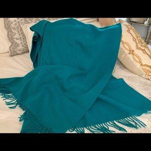 Dana Buchman 100% cashmere 4 ply Scarf ,shawl